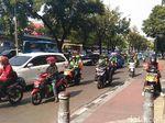 Pelarangan Motor Dicoba di Jl Sudirman Dulu, Rasuna Said Belum