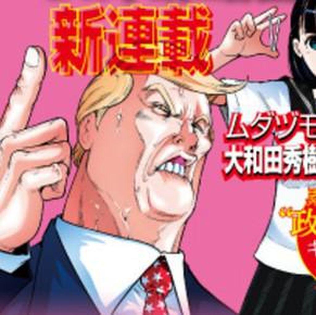 Vakum Dua Tahun, Hideki Ohwada Muncul dengan Manga Soal Trump