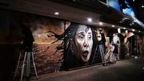 Mural Bu Susi ala Wonder Woman Viral di Medsos