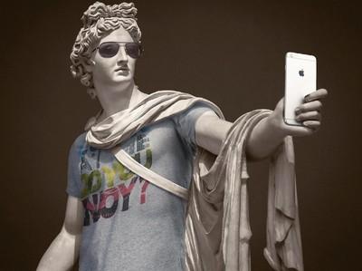 Saat Patung Yunani Kuno Jadi Hipster