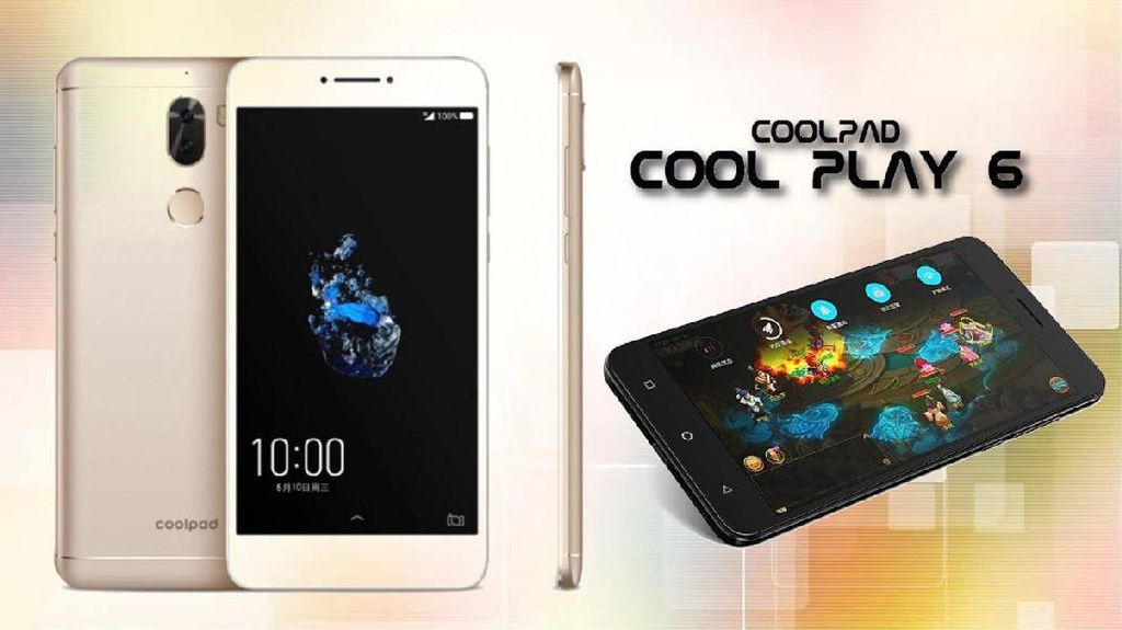 Coolpad Cool Play 6: Kamera Ganda dan RAM 6 GB