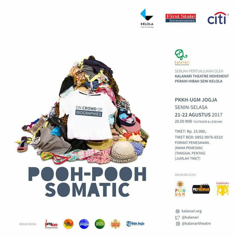 Kalanari Theatre Movement Persembahkan Pentas Pooh-pooh Somatic