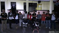 Motor Curian Terjaring Razia, 3 Pelaku Curanmor di Sukabumi Diciduk