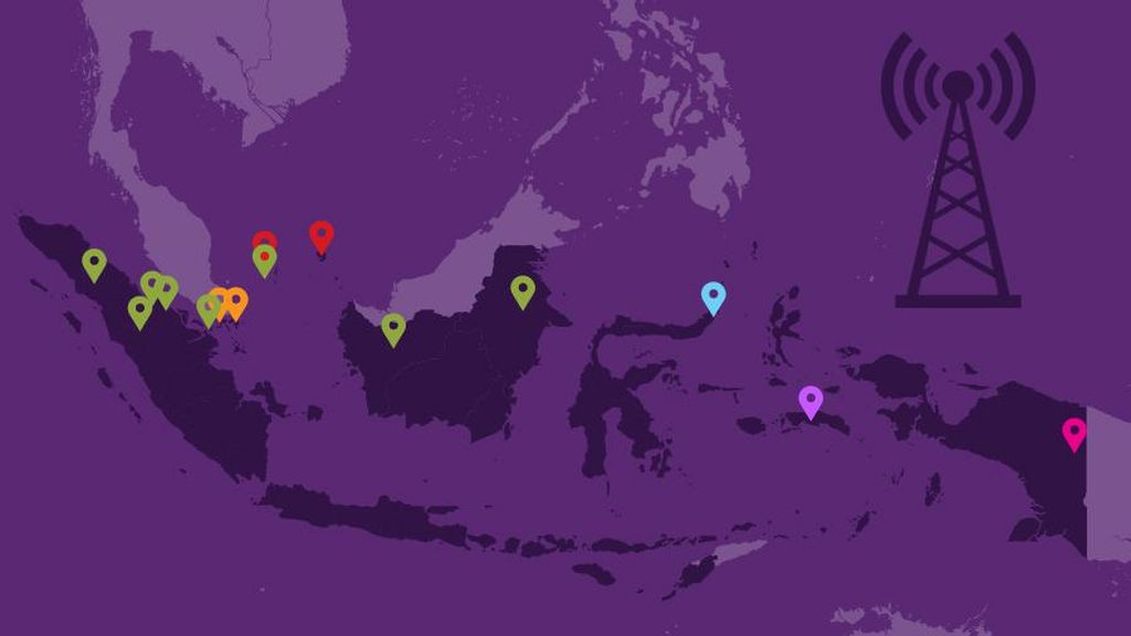 Cerita Sulitnya Warga di Pulau Liran Dapat Sinyal Telekomunikasi