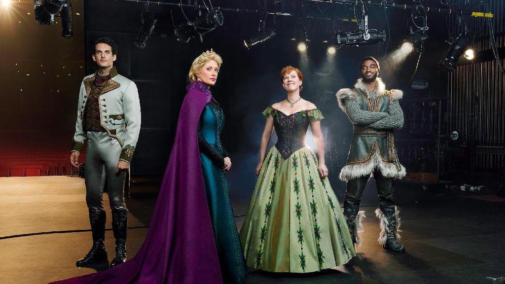 Ini Penampakan 4 Pemain Utama Musikal Frozen