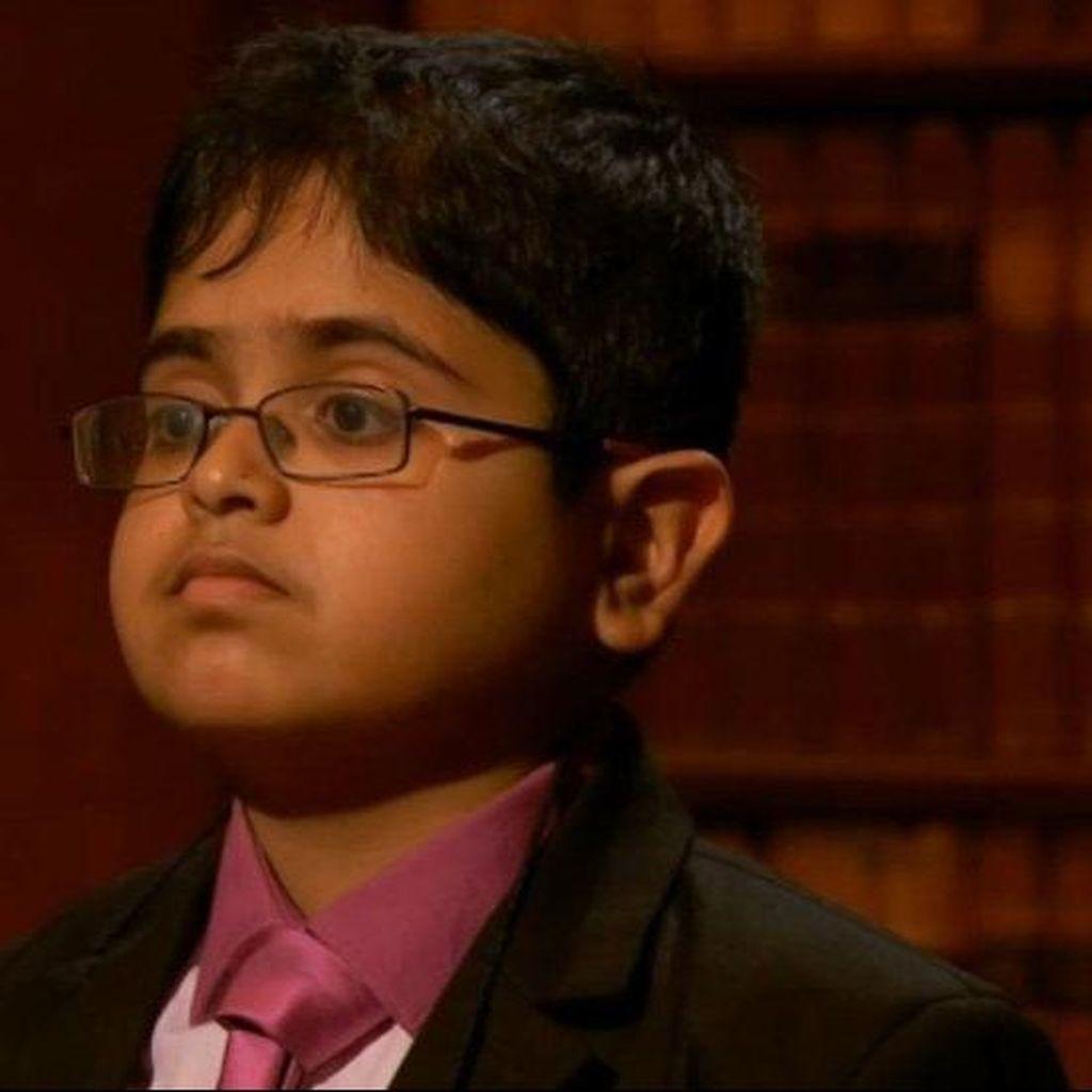 Bocah Keturunan India Juarai Kompetisi Anak-anak Jenius