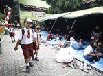 Korban Kebakaran Kebon Pala Diungsikan ke Halaman Sekolah