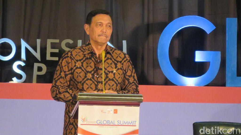 Luhut Pamer Pembangunan Papua di Depan Ratusan Diaspora