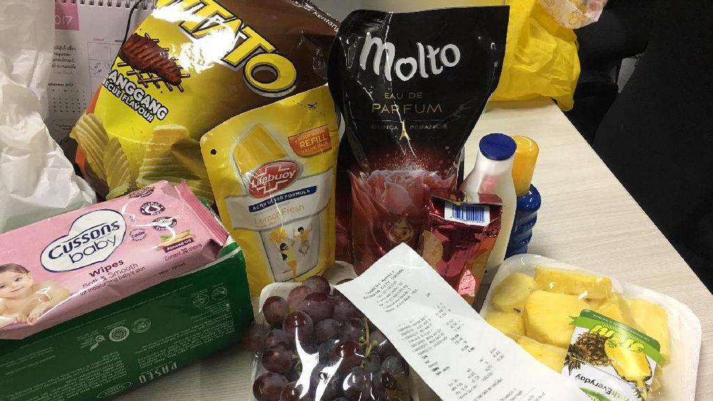 Pengalaman Belanja Kebutuhan Rumah Tangga Pakai Go-Mart dari Go-Jek
