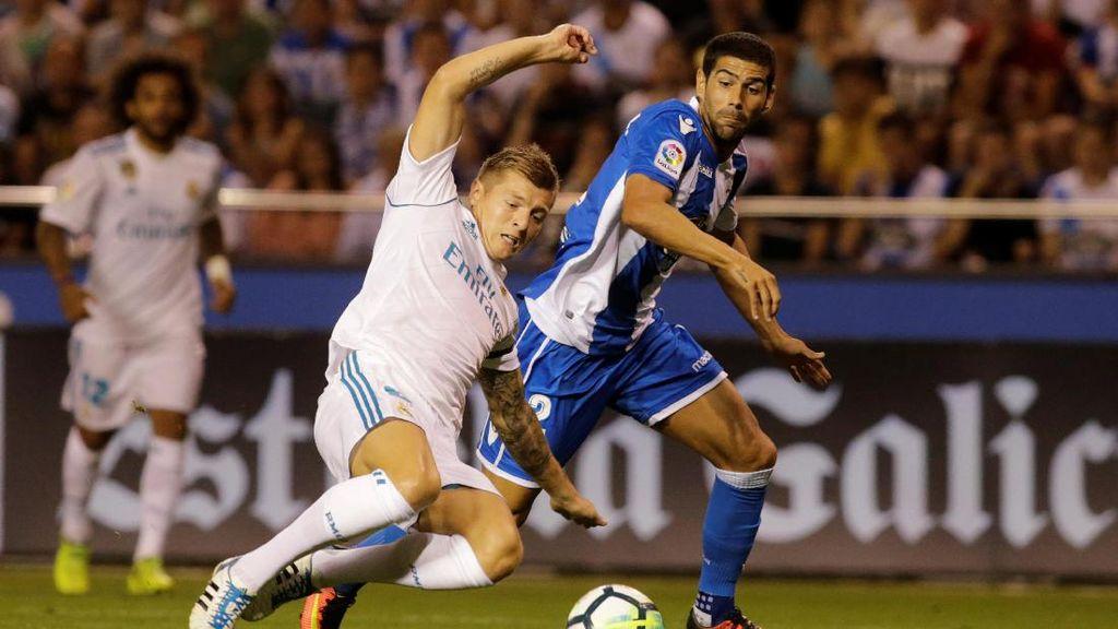 Sergio Ramos Dikartu Merah, Madrid Libas Deportivo