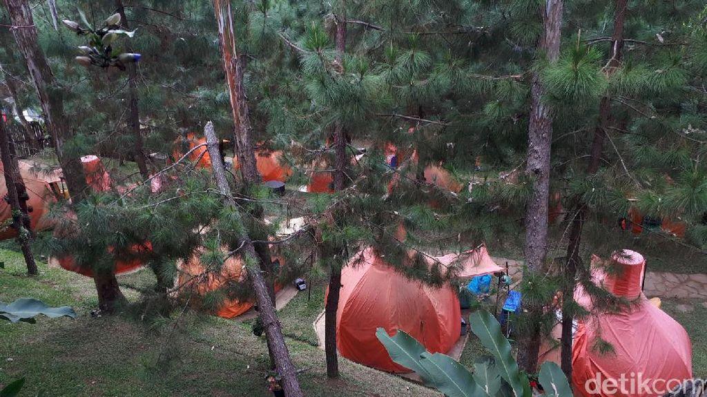 Tempat Kemping Mewah yang Ngehits di Bandung Barat