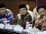Habibie Hadiri Rapat Pleno Badan Pengkajian MPR