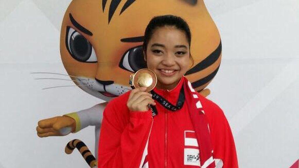 Tentang Dik Juwita Niza, Penyumbang Emas Wushu di SEA Games 2017