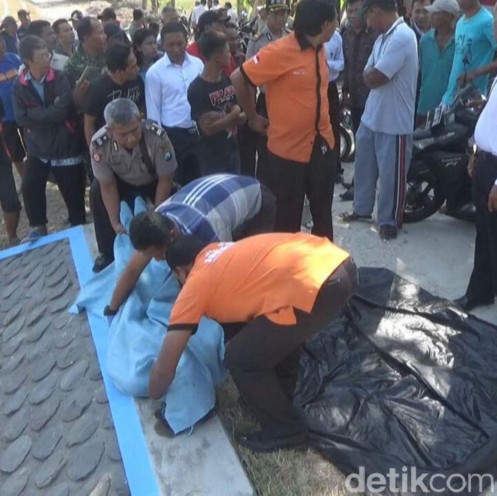 Warga Temukan Mayat Wanita Mengambang di Sungai Jombang