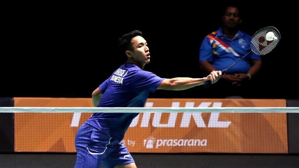 Bulutangkis di SEA Games: Indonesia Putra Kalahkan Kamboja 3-0