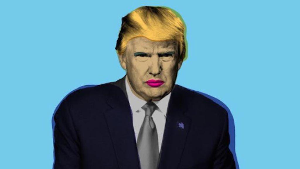 Protes Donald Trump, Brand Lipstik Rilis Lipstik Bernama F*ck Trump