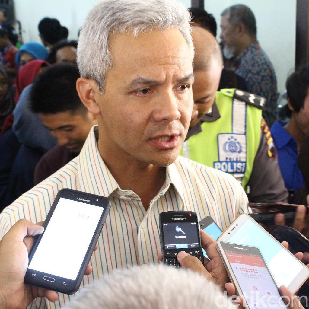 Nyaman Dengan Heru, Ganjar Tetap Tunggu Rekomendasi DPP PDIP