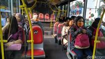 Tersingkir dari Sudirman, Pemotor Bisa Jajal TransJ Blok M-Kota