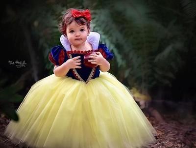 Foto: Cute! Saat Anak-anak Jadi Putri Disney