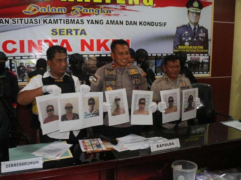 Pembakar 7 SD Dicokok di Rumah Keluarga Anggota DPRD Kalteng