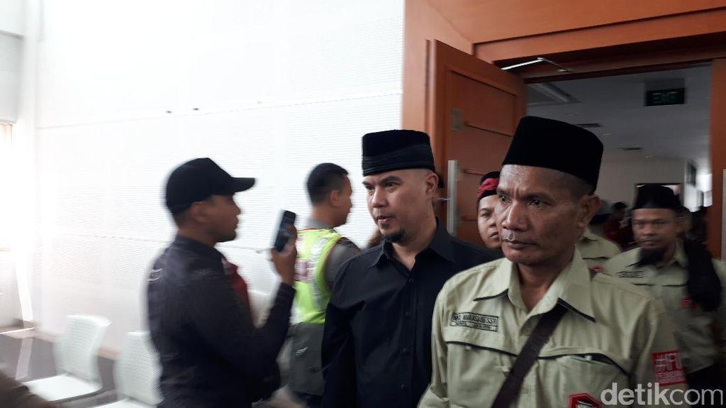 Jadi Saksi, Ahmad Dhani Bela Buni Yani karena Merasa Benar