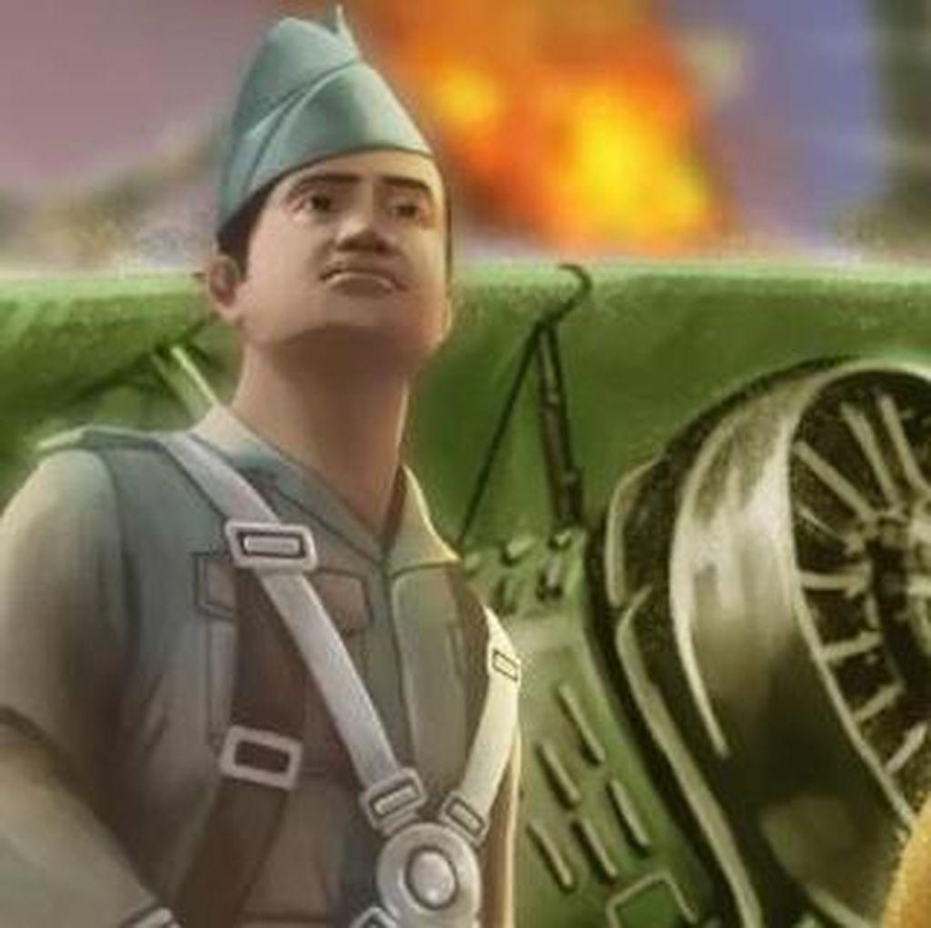 Mayor Husein, Pertempuran di Udara dengan Kearifan Lokal