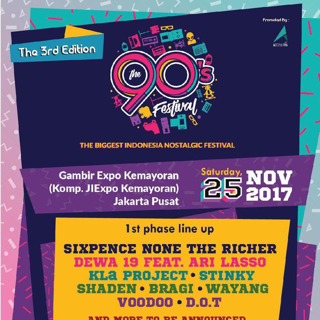 Nostalgia Yuk di Acara 90s Festival