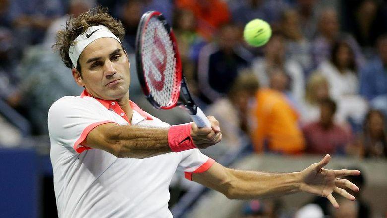 Kata Federer soal Peluangnya Menjuarai AS Terbuka