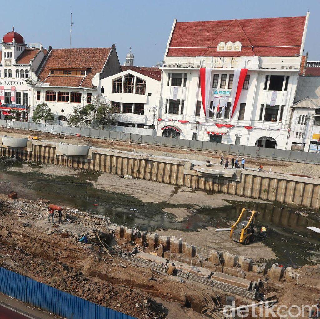 Renovasi Kali Krukut di Little Amsterdam Jakarta