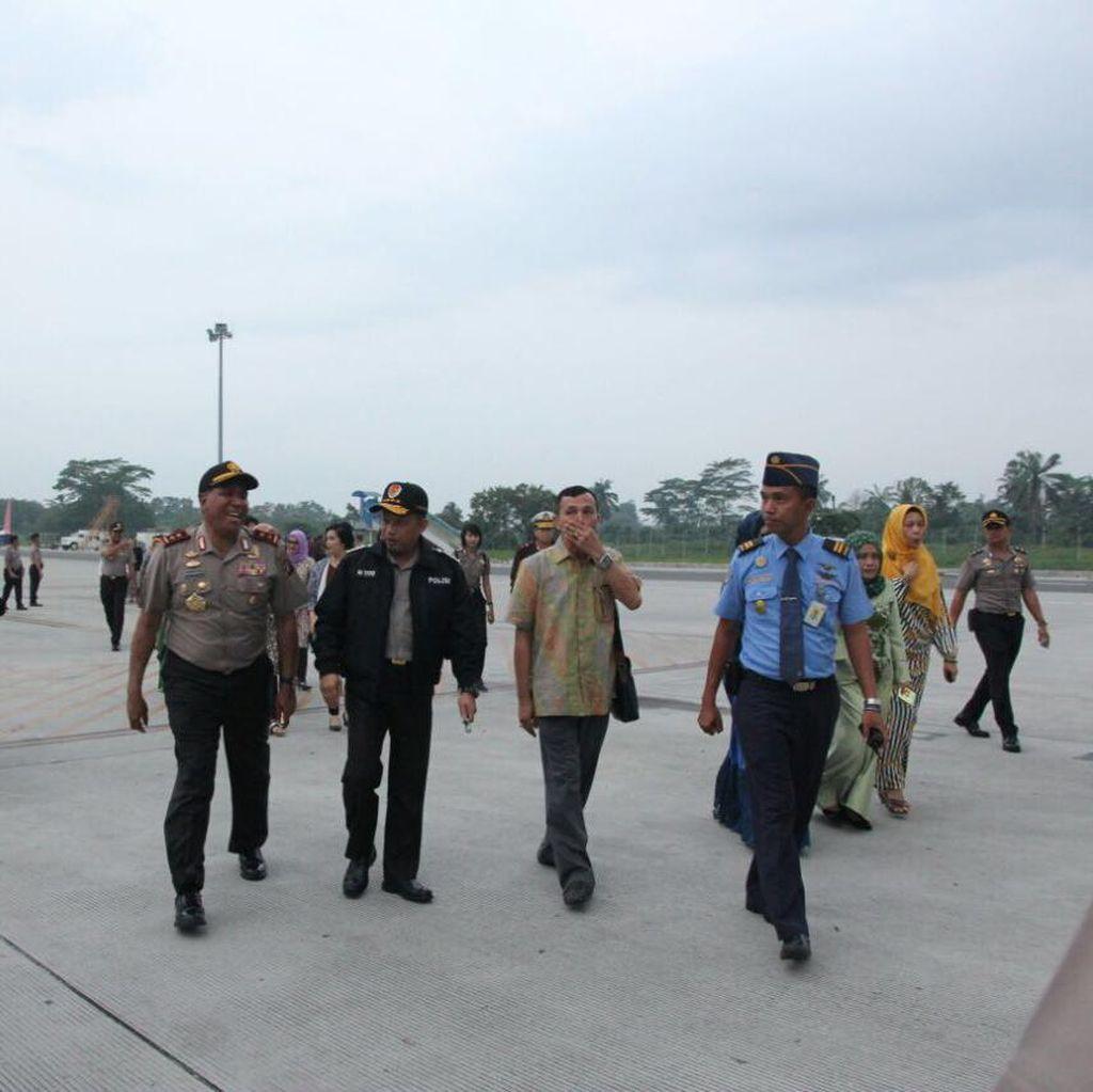 Besok Kapolri Temui Korban Erupsi Gunung Sinabung di Karo