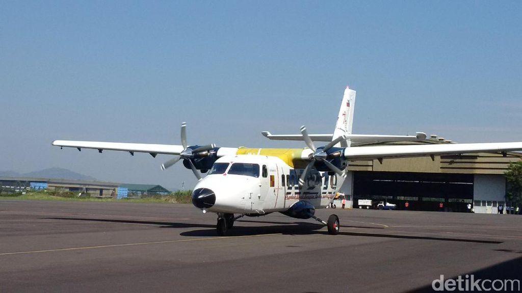Batal Disaksikan 4 Menteri, Uji Terbang Kedua N219 Sukses