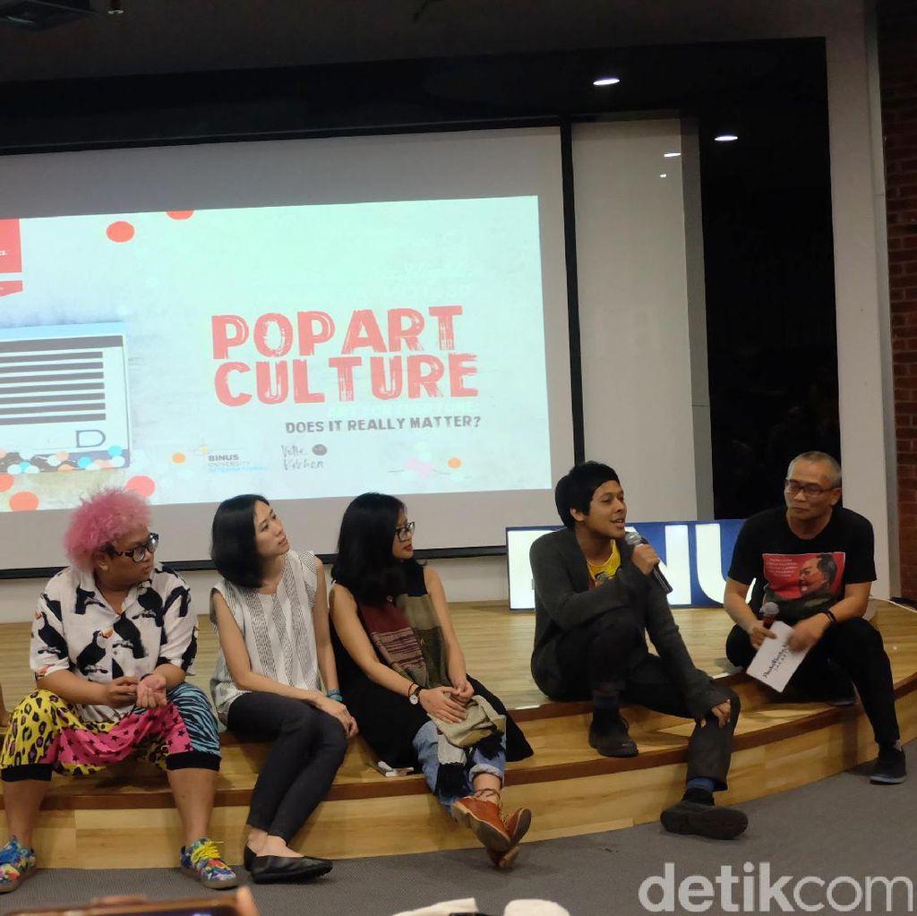 7 Kurator dan Seniman Bicara Kultur Pop Art di PechaKucha Night Jakarta