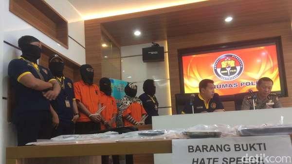 1 Pelaku Terkait Saracen di Pekanbaru Dibawa ke Jakarta