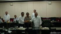 Sambut Idul Adha, Kapolri Rapat Bersama Menhub dan Menteri PUPR