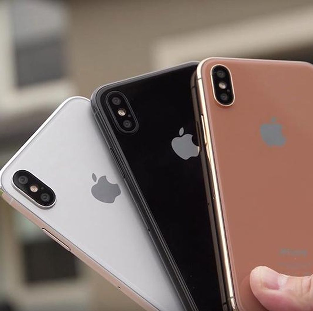 Sensor Sidik Jari iPhone 8 Ada di Logo Apple