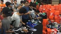 Diskon Sepatu di GI, Sri Mulyani Antre hingga 3 Jam