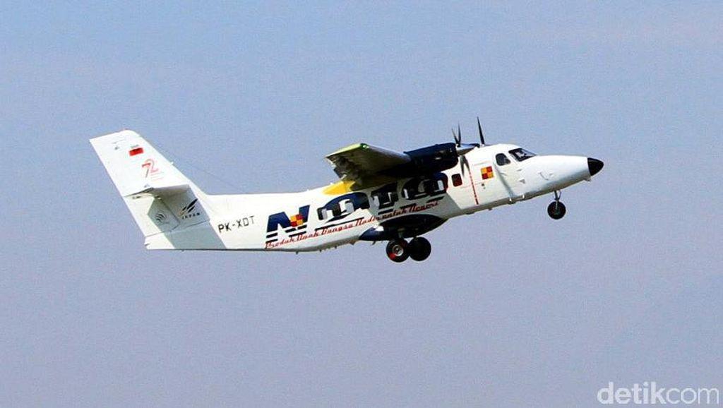 Foto: Pesawat N219 Sukses Uji Terbang Kedua