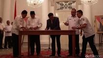 Pemprov DKI dan Banten Kerja Sama Integrasi Angkutan Umum