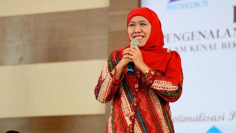 Elektabilitas Khofifah Sangat Tinggi - Jakarta Partai Demokrat menilai Khofifah Indar Parawansa menjadi sosok potensial untuk maju dalam Pilgub Jatim karena elektabilitas Khofifah