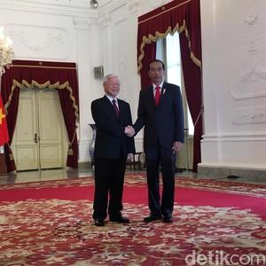 Ini Isi Pembicaraan Jokowi dan Sekjen Partai Komunis Vietnam