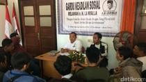 Puluhan Buruh Outsourcing Curhat ke Gardu La Nyalla