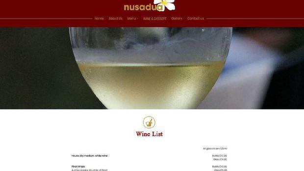 Menu Restoran Bos First Travel: dari Emping sampai Wine
