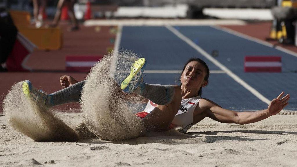 Maria Londa Bawa Pulang Perak dari Lompat Jangkit di SEA Games 2017