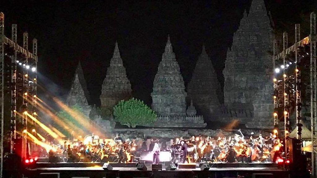 Postingan Sarah Brightman Pasca Manggung di Prambanan Jazz 2017