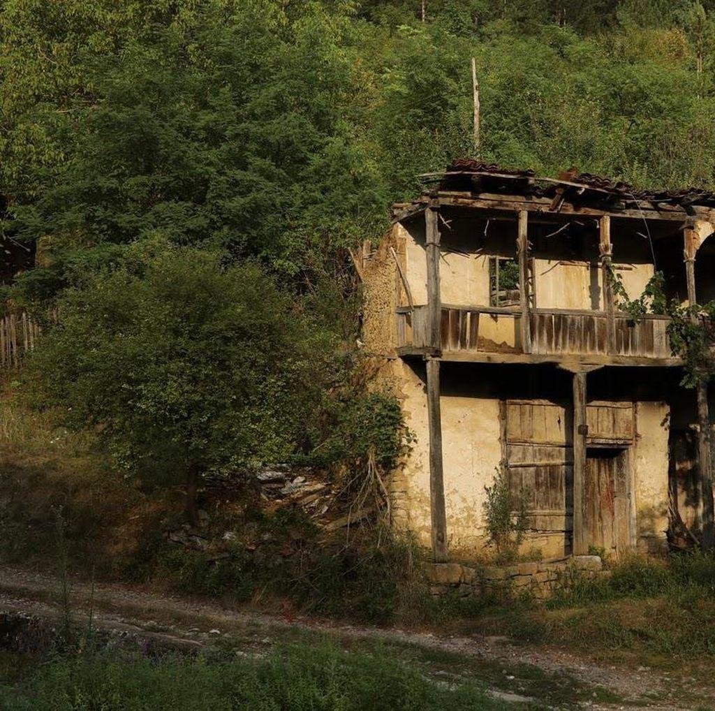 Potret Kawasan di Serbia yang Berubah Jadi Kota Hantu