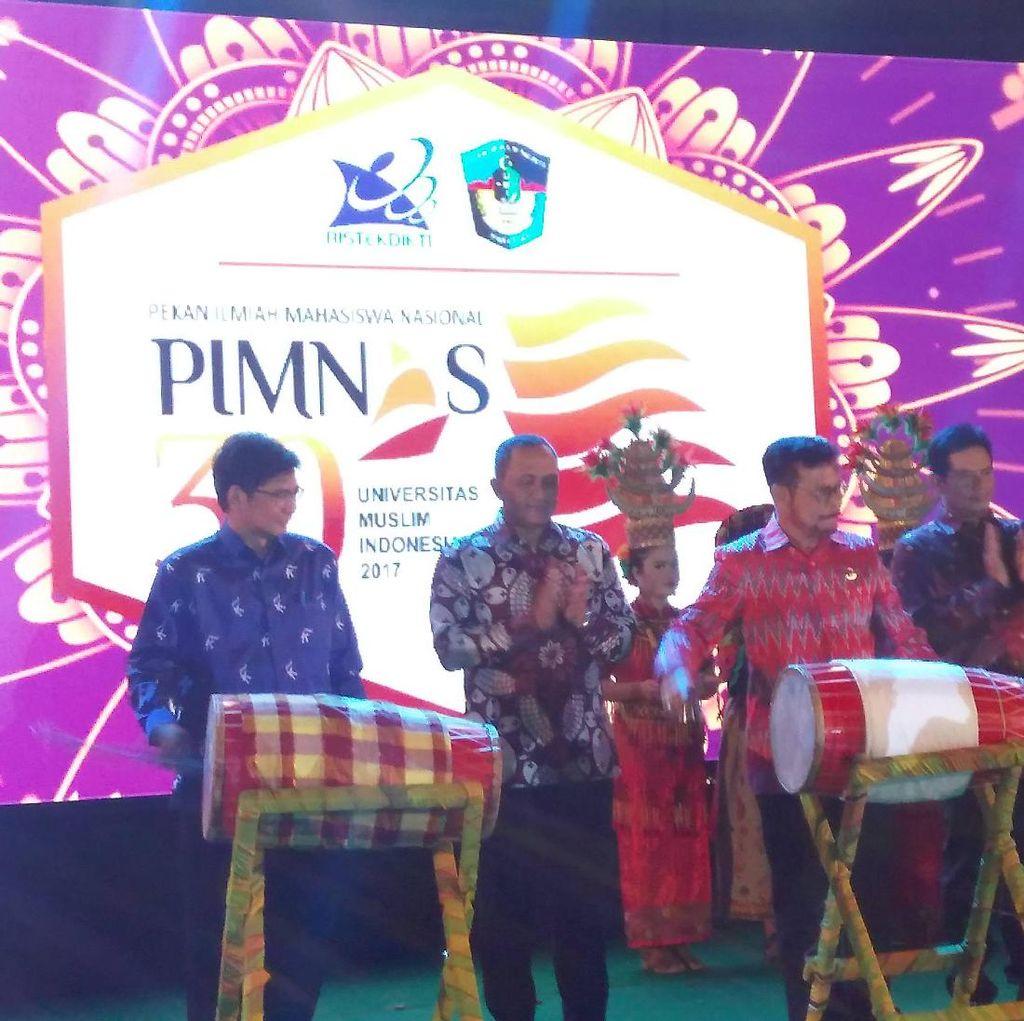 1.845 Mahasiswa se-Indonesia Ikuti Pimnas di Kampus UMI Makassar