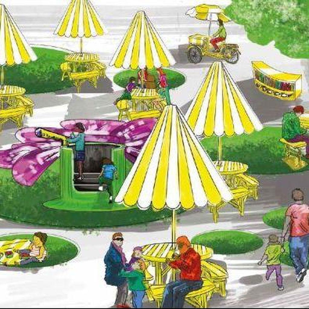Canberra Bangun Taman yang Bisa Dipindah-pindah