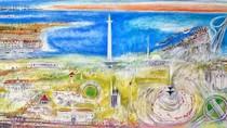 Pasca 1975, Srihadi Soedarsono Bikin Lukisan Jayakarta Masa Kini