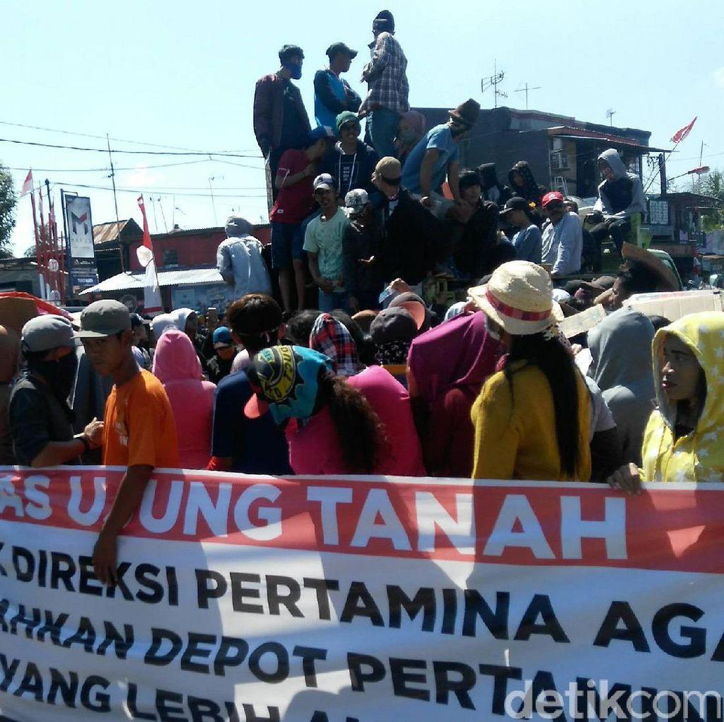 Buntut Tanki Anjlok, Warga Makassar Tuntut Depot LPG Pertamina Pindah