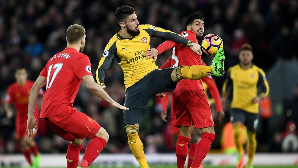Panas Liverpool vs Arsenal di Anfield